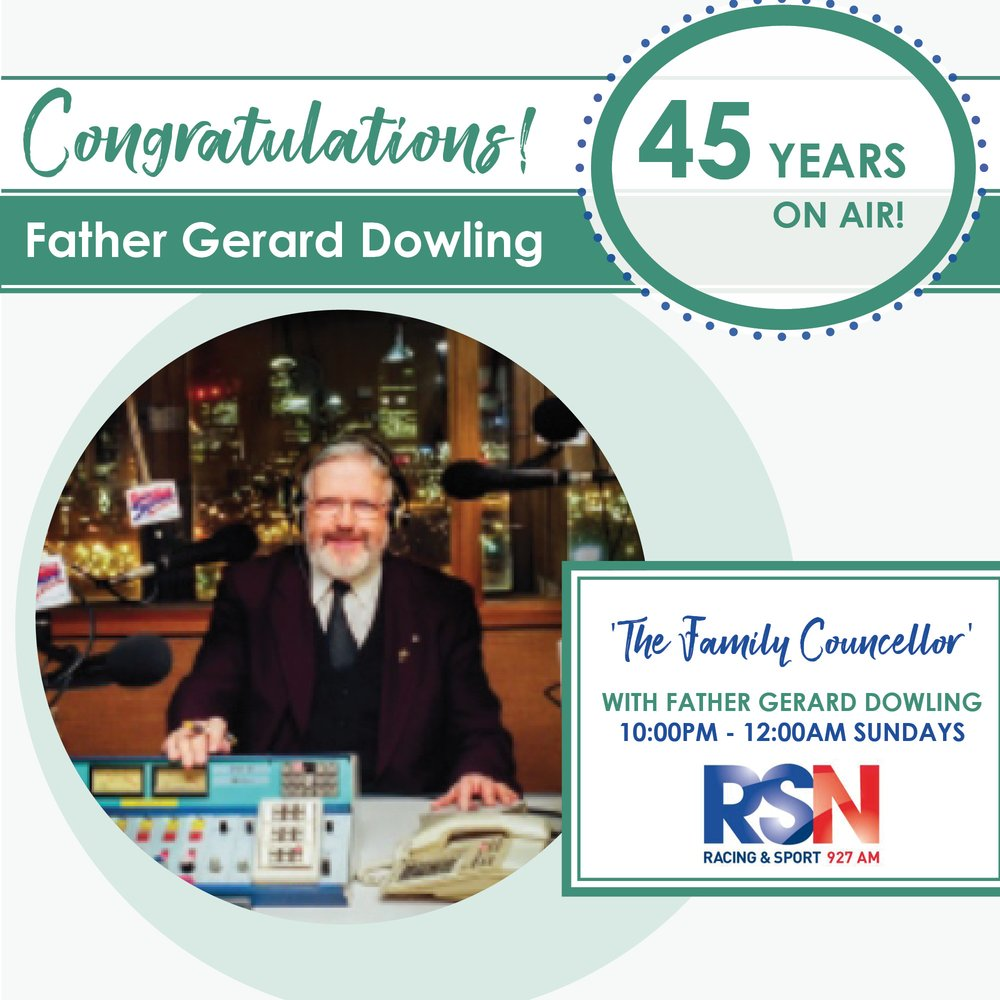 Celebrating Father Gerard Dowling's 45 Years on Air